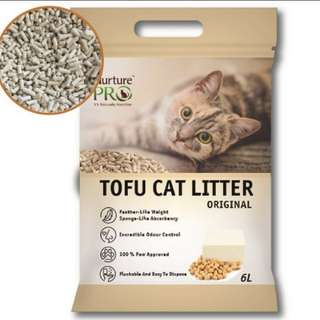 tofu cat litter 🐱