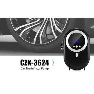💯 CZK - 3624 Car Tire Inflator Digital for Motorcycle Bicycle