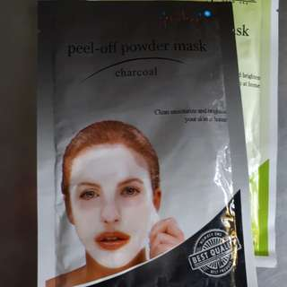 Jordanie Peel Off Powder Mask Charcoal 20 gr