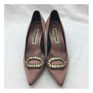 Manolo Blahnik Crystal Heels - Manolo Blahnik 水晶高跟鞋