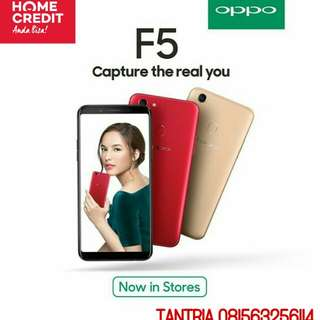 Oppo F5 RAM 4GB kredit/cash