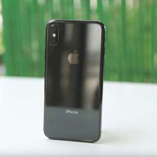 IPhone X 64GB Space Gray New Ready Cicilan Tanpa CC