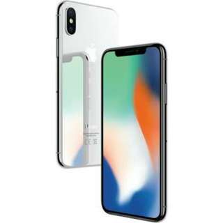 Apple iPhone X 256GB Silver New Ready Cicilan Tanpa CC