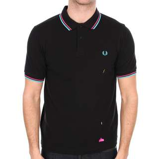 Fred Perry x Space Invaders Polo 01