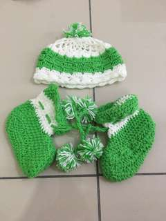 Baby Crochet Hat & Socks