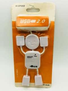 4 Port USB 2.0 High Speed Mini Hub