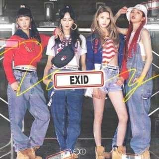 EXID Single Album - Tomorrow