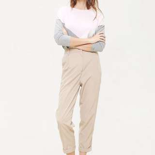 Cottonink - Beige stone pegged pants