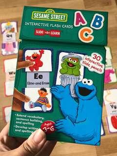 PL Sesame Street Flash Card