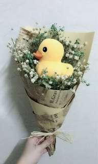 🚚 Baby breath baby shower bouquet