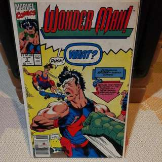 Marvel Comics WONDER MAN Issue 3