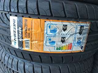 Tayar 225 40 18 Mazzini ECO605 tyre
