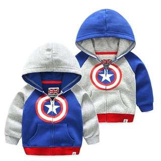 Captain America hoodie jacket (preorder)