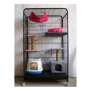 {In Stock} 3 Tiers Cage with Bundle (Available: Purple)