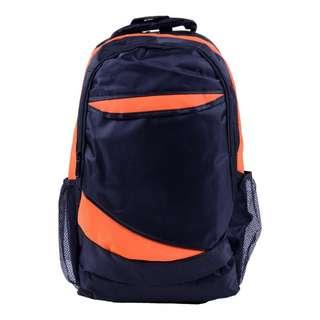 Backpack - Black / Orange