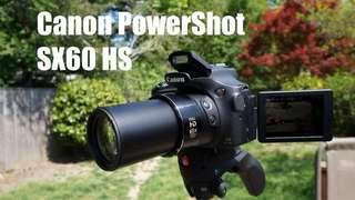 Canon SX60 HS Point & Shot