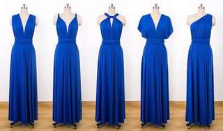 Infinity Dress (Royal Blue)
