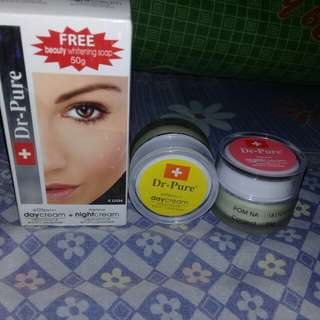 Cream Dr.Pure (Siang & Malam)