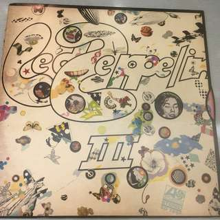 Led Zeppelin ‎– Led Zeppelin III, Vinyl LP, Atlantic ‎– SD 7201, 1970, Australia