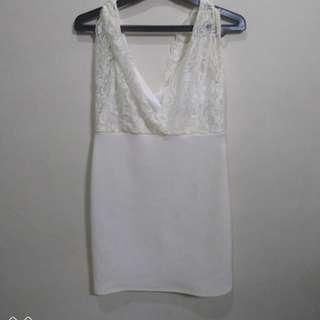 Dress pendek soft bgt free ongkir