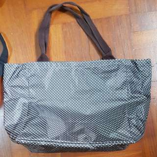 BN waterproof polka dot bag