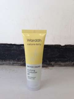 Wardah Nature Daily Purifying Moisturizer Gel