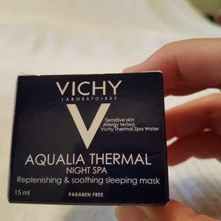 BNIB Vichy Aqualia Thermal Night Spa