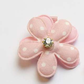 Baby/Toddler Pink Sweet Flower Hair Clip