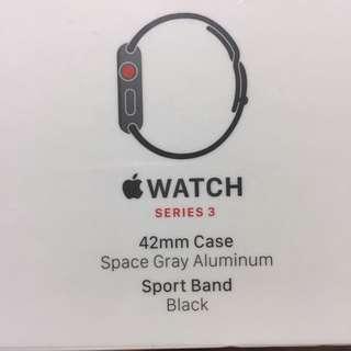 Apple Watch Series 3 ( GPS + Cellular) 42 mm