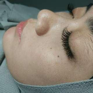 Eyelash extension natural