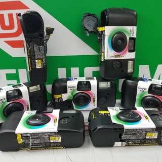 菲林相機(已用完的即棄相機殼)
