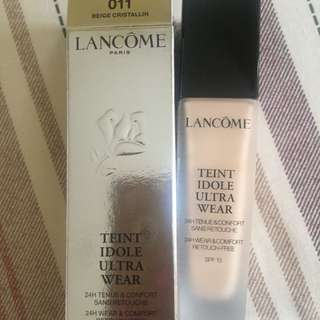 Lancome teint idole ultra wear foundation (like new 99%)