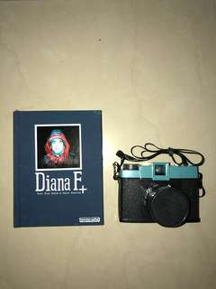 LOMOGRAPHY Diana film camera