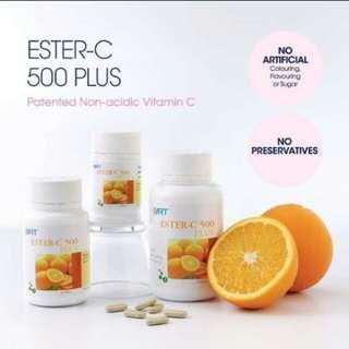 Ester-C 500Plus Elken Vitamin C 60tab($38)/120tab($65)