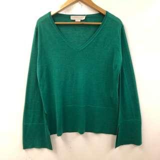 綠色針織上衣 Stella mccartney green knitted sweater size 30