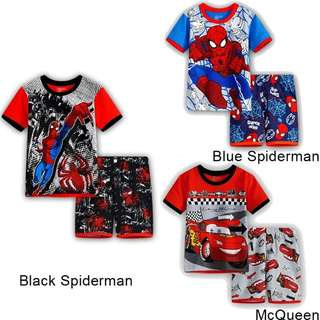 (Preorder) Spiderman / Mcqueen Set