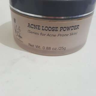acne loose powder