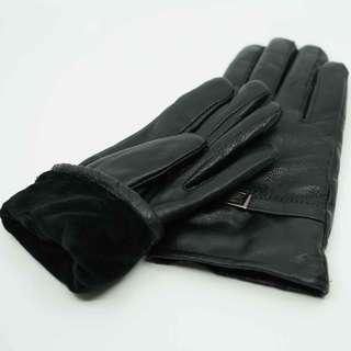 冬季暖手~小羊皮手套