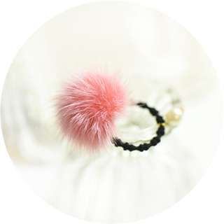 Pom Pom Hair Band Cute and Sweet (Restock)