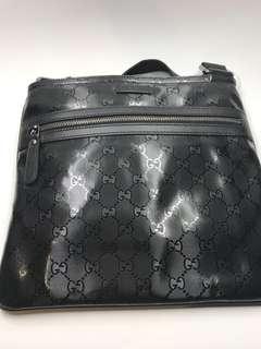 Gucci Bag PVC 經典料黑色 28x 27 全新購自意大利