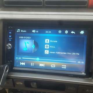 Double din bluetooth Radio car