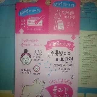 Korean 3 step mask