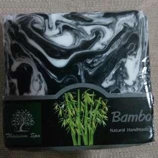 Bamboo soap