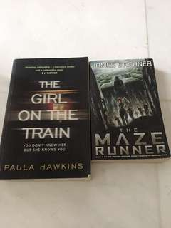 Girl on the Train & Maze Runner
