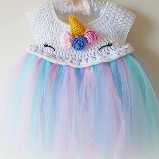 Unicorn tutu crochet