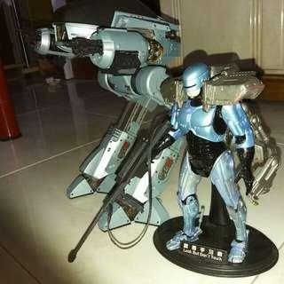 NECA Robocop and ED-209