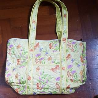 BN yellow butterfly bag