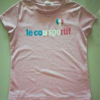 Le Coq Sportif Girls Sports T-Shirt