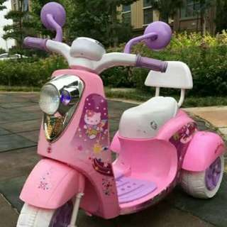 Motor Bike chargeable kasya 1-12yrs