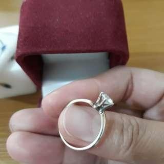 Filigrenasia Silver Overlap Ring [Repriced]